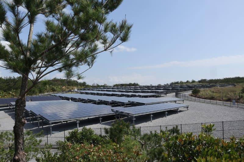 大規模太陽光発電の実験も行なう