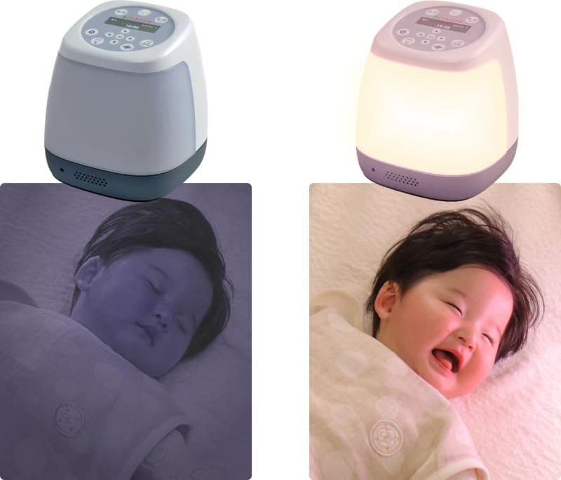 太陽光を模したLED灯で目覚ましをサポート