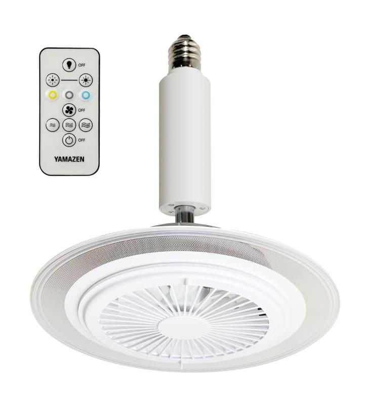 導光板FAN付LEDミニライト E26ソケットタイプ