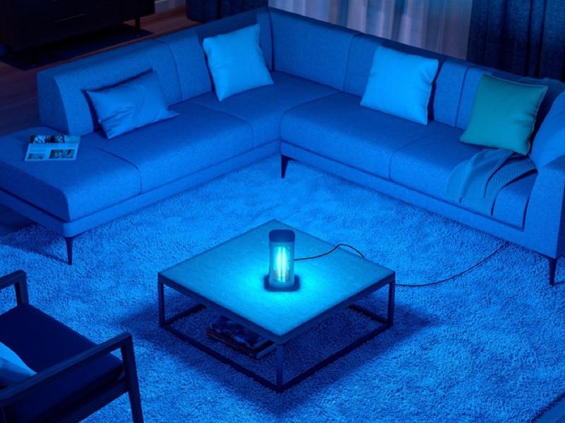UV-C光を用いることでウイルスや細菌を不活性化する