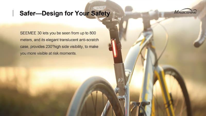 Seemee 30 Bike Tail Light Combo(公式サイトより)