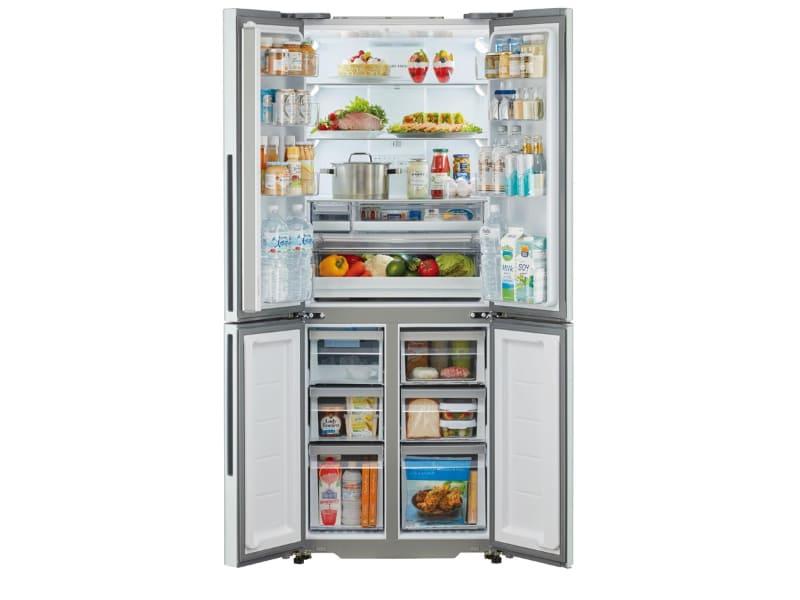 冷凍庫は6つに分かれている(画像はAQR-TZ42K)