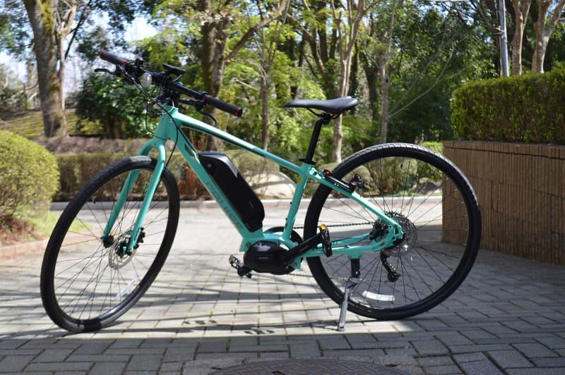 ミヤタ「CRUISE 5080」。シマノSTEPS「E5080シリーズ」を搭載するクロスバイクタイプのe-bike