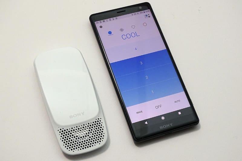 ソニーのウェアラブルサーモデバイス「REON POCKET」に最新モデルが登場。アプリの機能も進化した