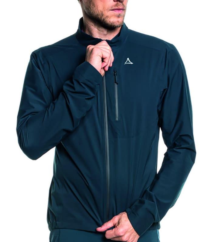 高い防水性・透湿性が特徴のサイクリングジャケット