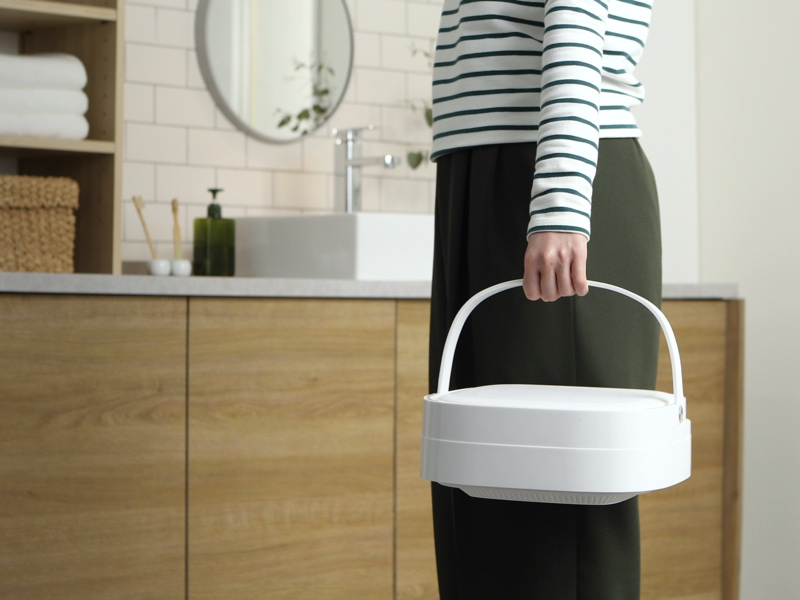 折りたたみ式のポータブル洗濯機