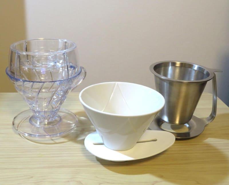 ハンドドリップを身近にしてくれるHARIOのコーヒーグッズ3種。いずれも2021年発売
