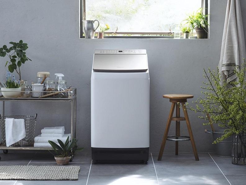 第2回は縦型洗濯機のしくみを紹介(写真はパナソニックの「NA-FW100K7」)