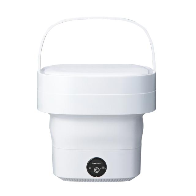 ドウシシャ「折りたためるコンパクト洗濯機 WMW-021 ホワイト」