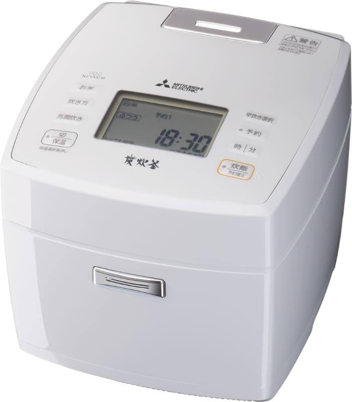 冷凍用/長粒米(ふつう/炒飯/おかゆ)/炒飯メニュー搭載の「NJ-VVC10」