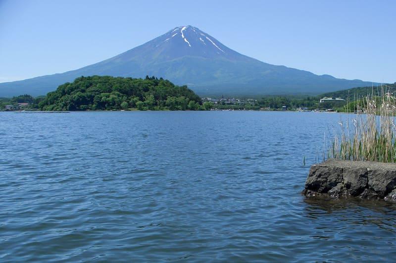 雲がなければこんな富士山が見えます