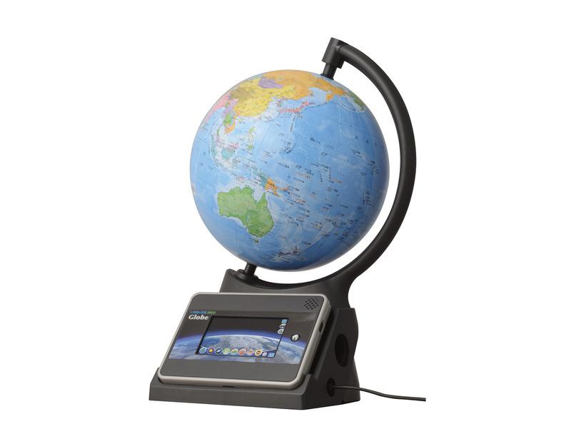 タブレット付きおしゃべり地球儀「小学館の図鑑NEOGlobe(ネオグローブ)」
