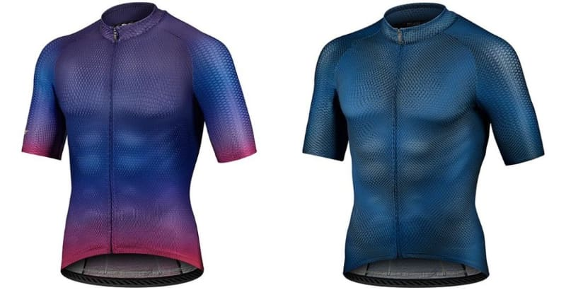 """<a href=""""https://www.giant.co.jp/giant21/acc_datail.php?p_id=A0002891"""" class=""""n"""" target=""""_blank"""">ELEVATEELEVATE LIMITED EDITION SS JERSEY</a>(左)、<a href=""""https://www.giant.co.jp/giant21/acc_datail.php?p_id=A0002893"""" class=""""n"""" target=""""_blank"""">ELEVATE SS JERSEY</a>(右)。価格は16,500円"""