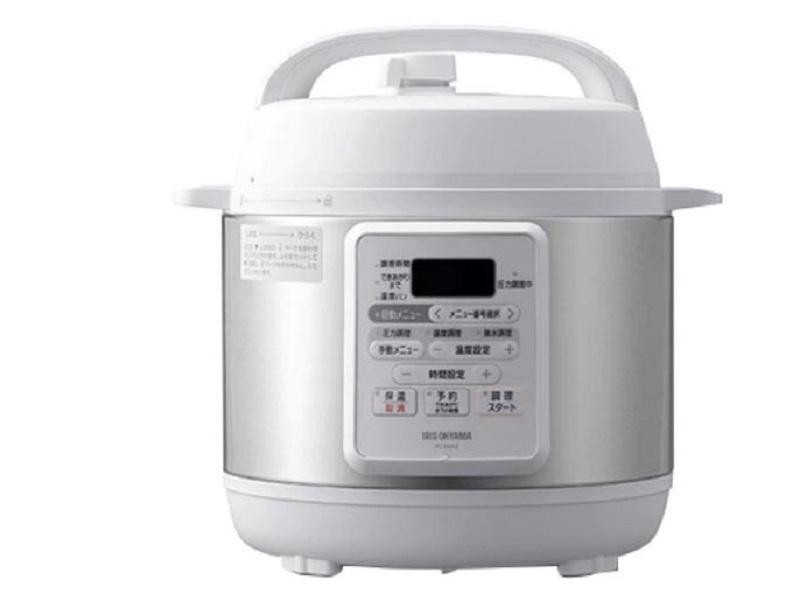 電気圧力鍋 3.0L ホワイト PC-EMA3-W