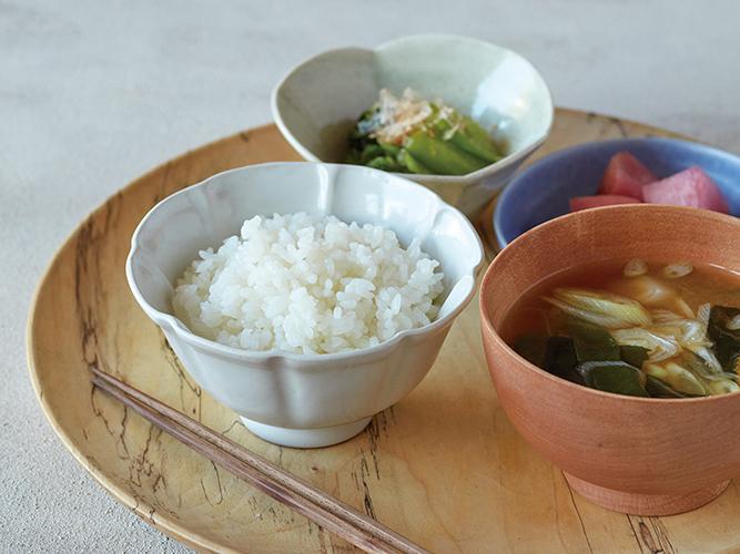 通常の白米もおいしく炊ける