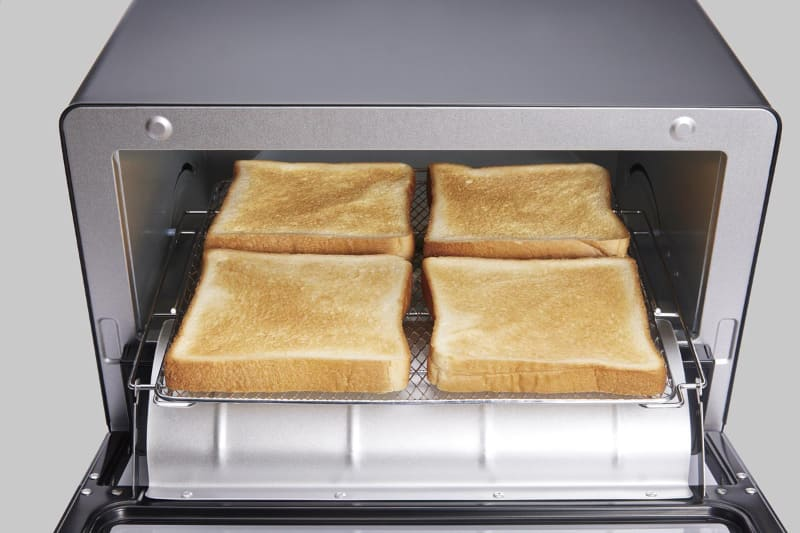 トースト4枚を焼ける庫内サイズ