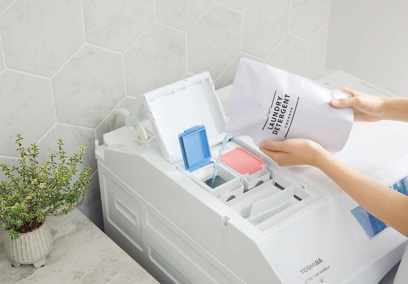 液体洗剤・柔軟剤自動投入機能を搭載