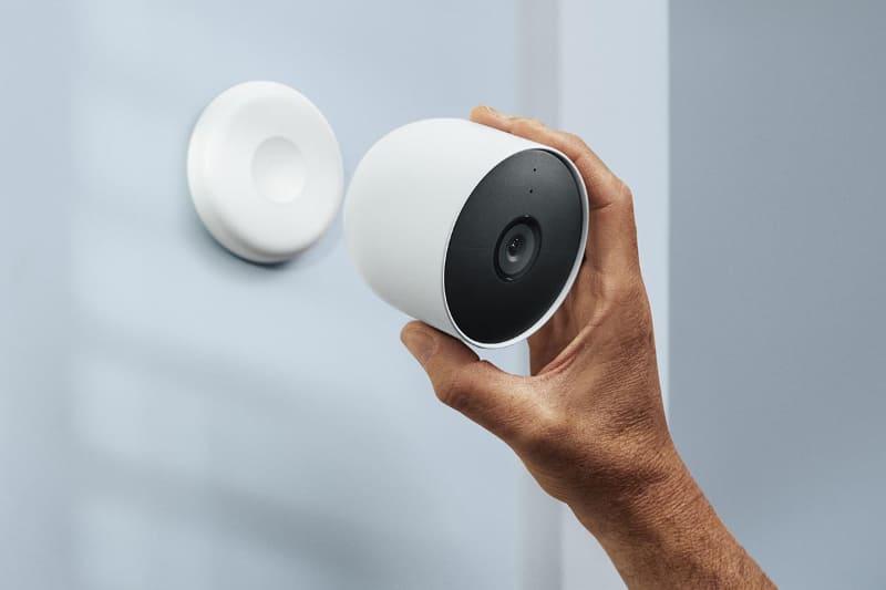 Google Nest Camのバッテリー式モデル