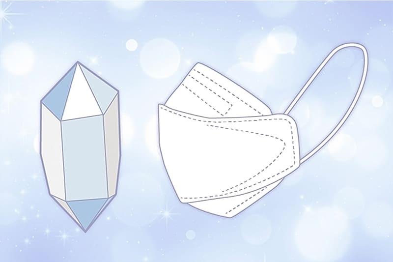 立体クリスタル形状のイメージ