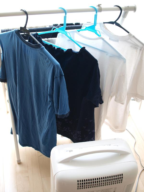 最近では送風機能にこだわることで、部屋干しの洗濯物を素早く乾燥することを狙った製品が多い