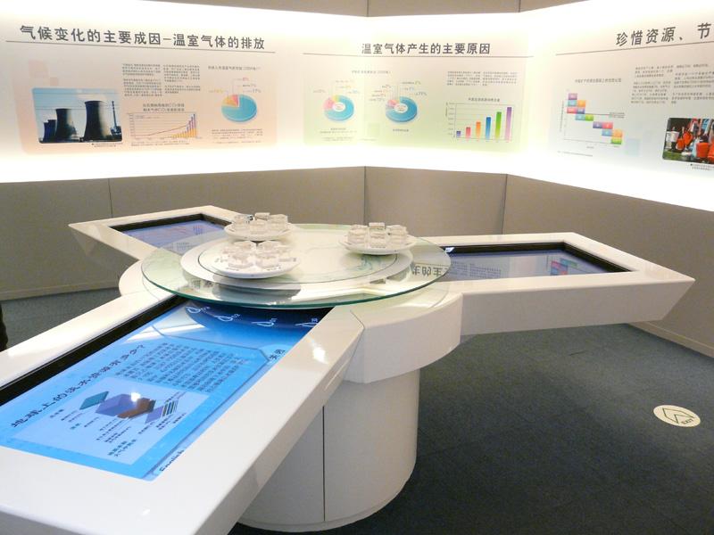 こちらは中国国内における環境問題を考えるコーナー