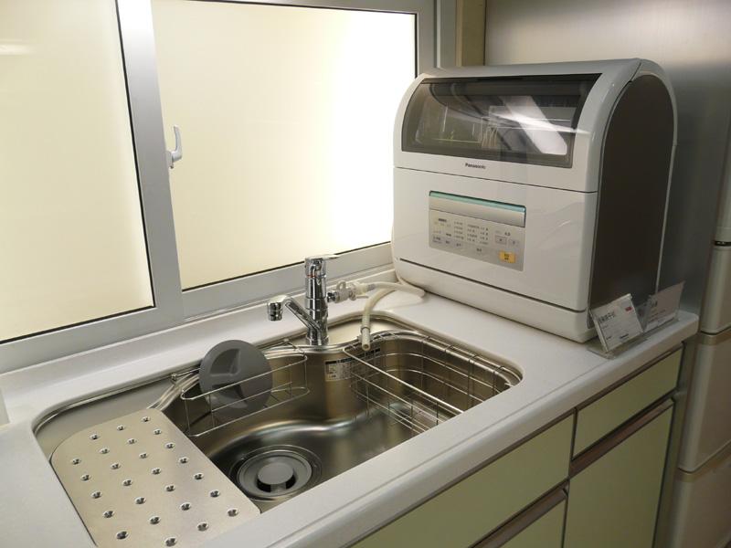 こちらは、キッチンの利用環境を提案した展示