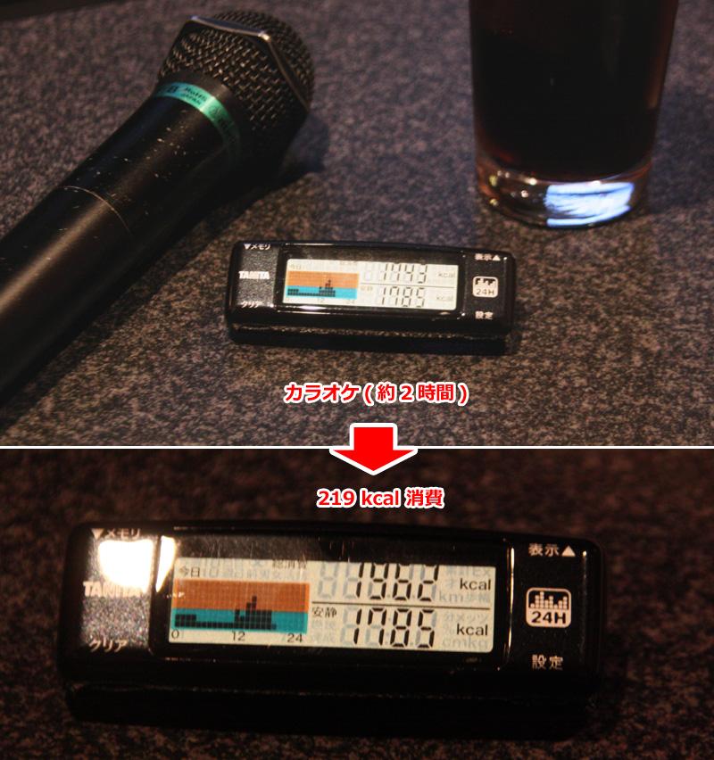 カラオケは2時間で219kcal。声を出すことによるエネルギー消費もあるため、実際はもっと消費しているかもしれない