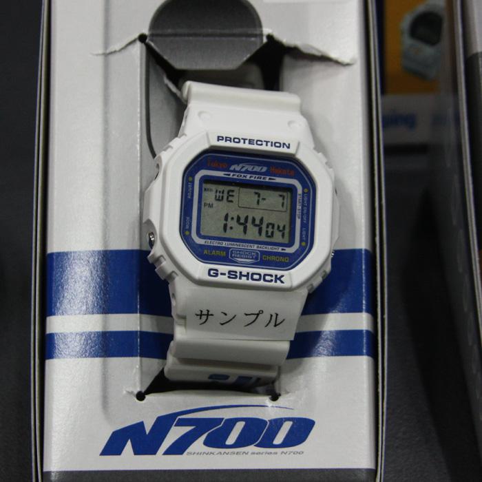 2007年より運行を開始した新幹線車両「N700系」がテーマのG-SHOCK。価格は14,800円