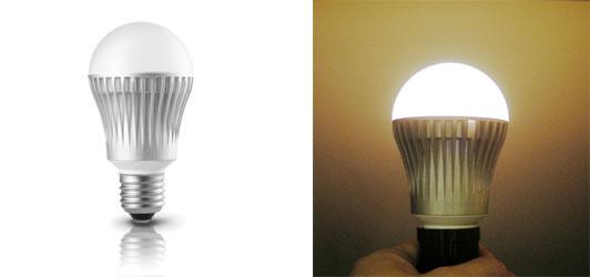 左が消灯時、右が点灯時