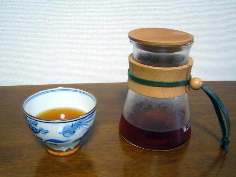 プーアル茶は、クセのないやさしい味に仕上がった