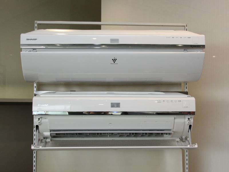 シャープの2009年モデルのエアコン「キレイオン SXシリーズ」