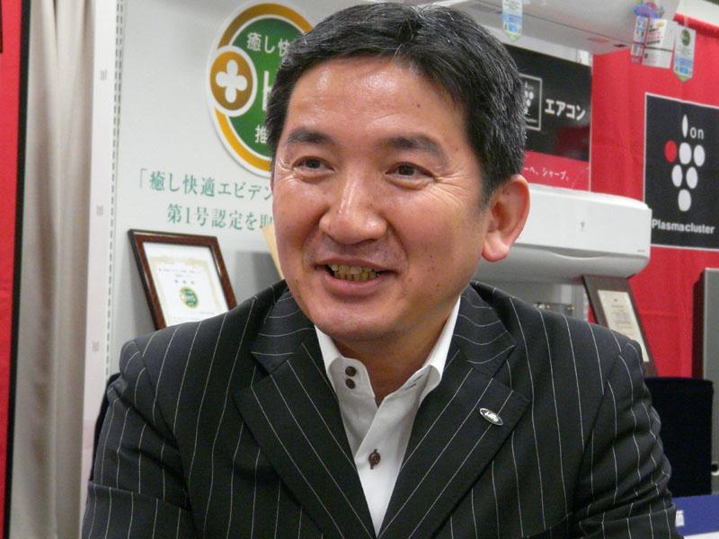 シャープ 健康・環境システム事業本部 空調システム事業部 副事業部長兼商品企画部長 鈴木隆氏