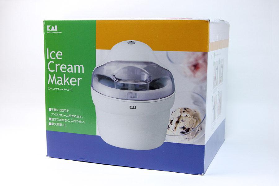貝印「アイスクリームメーカー DL-0272」