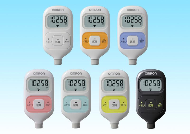 カラーバリエーションは7色を展開。左上から時計回りで、ホワイト、オレンジ、パープル、ブラック、グリーン、ブルー、ピンク