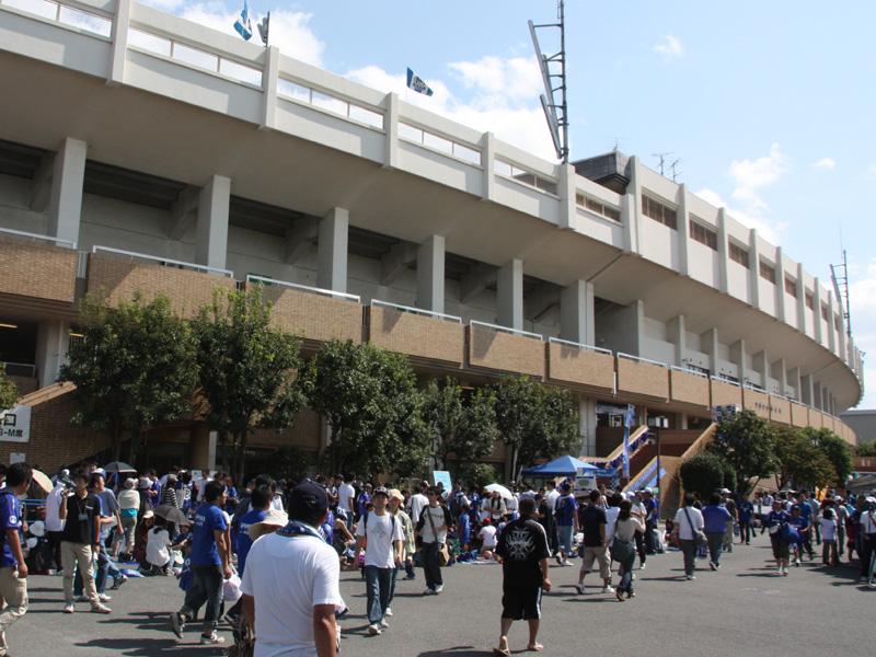 イベント会場となったのは、ガンバ大阪のホームスタジアムである万博記念競技場。ガンバ大阪と川崎フロンターレとの試合前に催された
