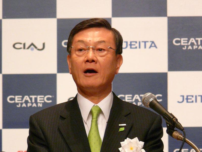 大坪文雄代表取締役社長