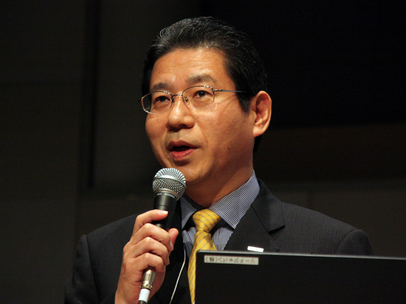 燃料電池事業化プロジェクトの清水俊克氏