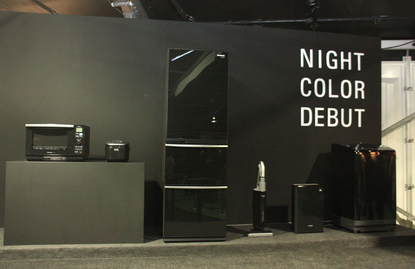 「100% Design」にて展示された、ナイトカラーシリーズ