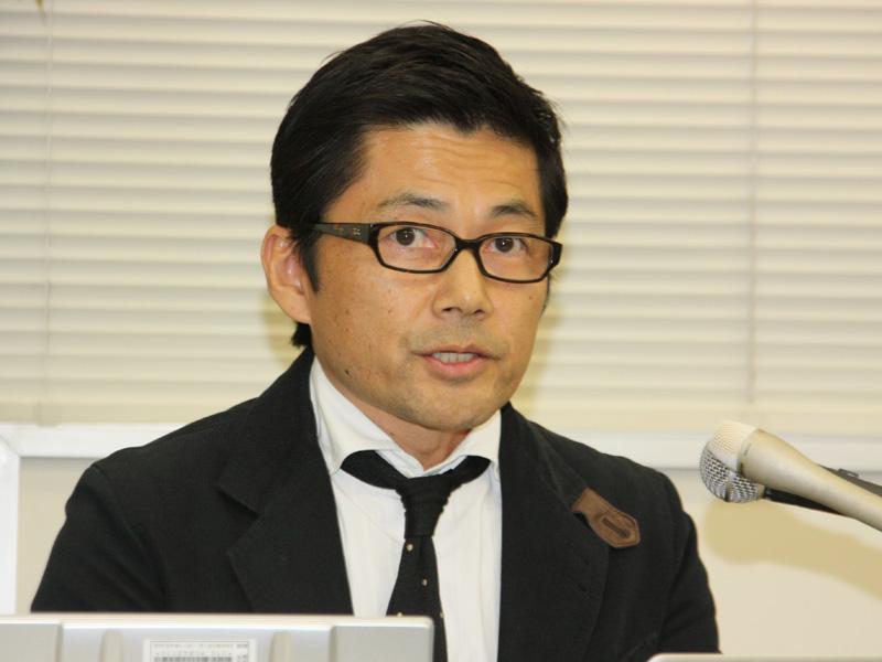 三洋電機 アドバンストデザインセンター 所長の清水正人氏
