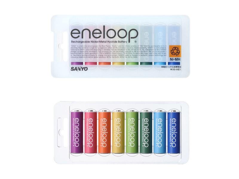 「eneloop tones(エネループ トーンズ)」のパッケージ
