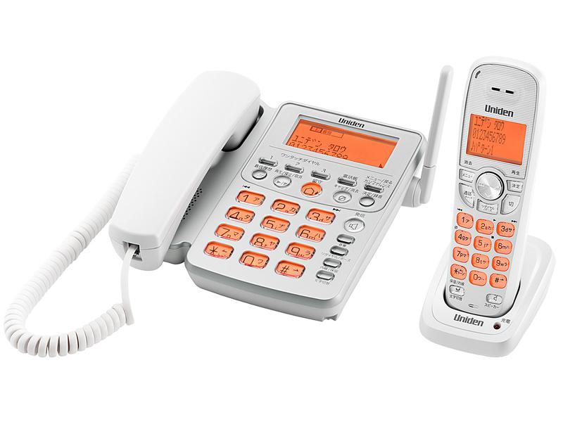デジタルコードレス留守番電話「UCT-216」