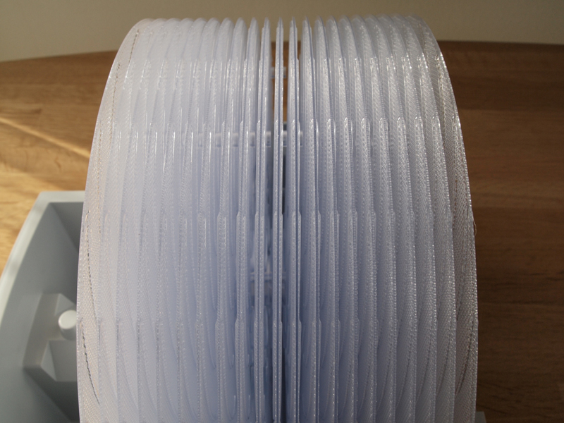 ディスクユニットは21枚の加湿ディスクを組み合わせて構成されています