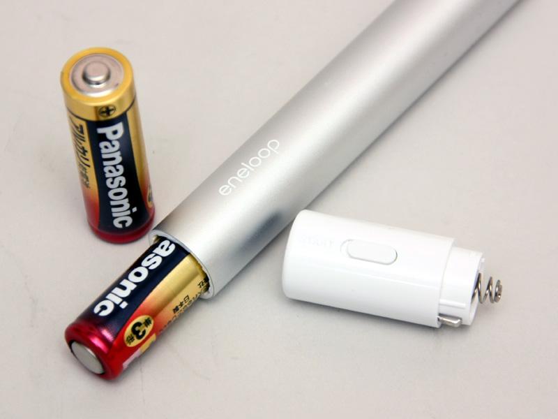 パナソニックのアルカリ電池でもテストしたが……
