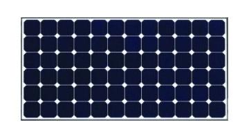 太陽発電モジュールには、サンパワー社の単結晶型モジュールを採用