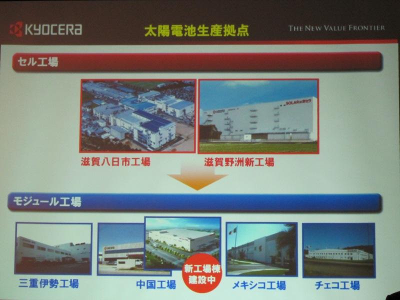 セルは国内の2つの工場で、モジュールは海外生産する体制となる
