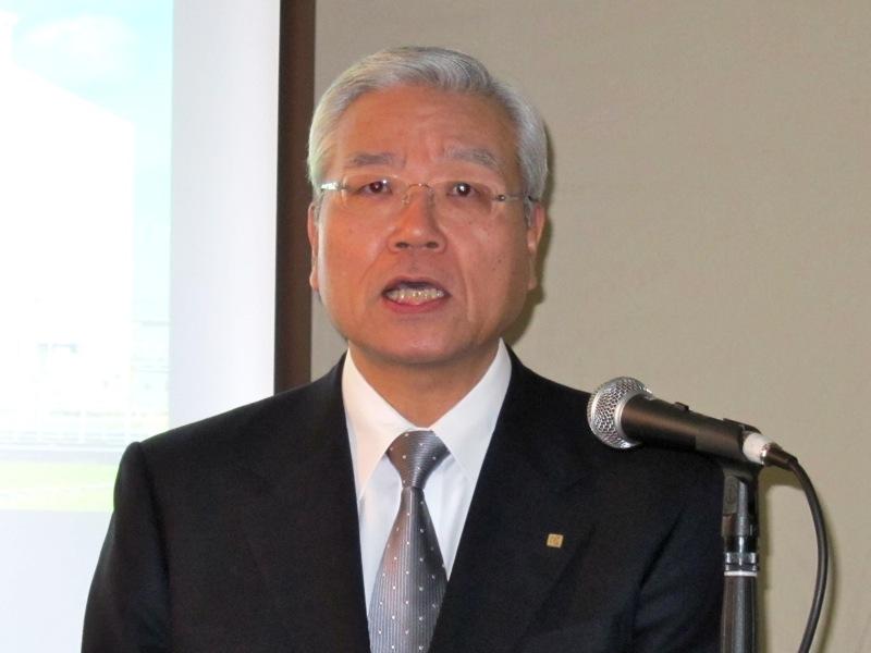 京セラ社長の久芳徹夫氏