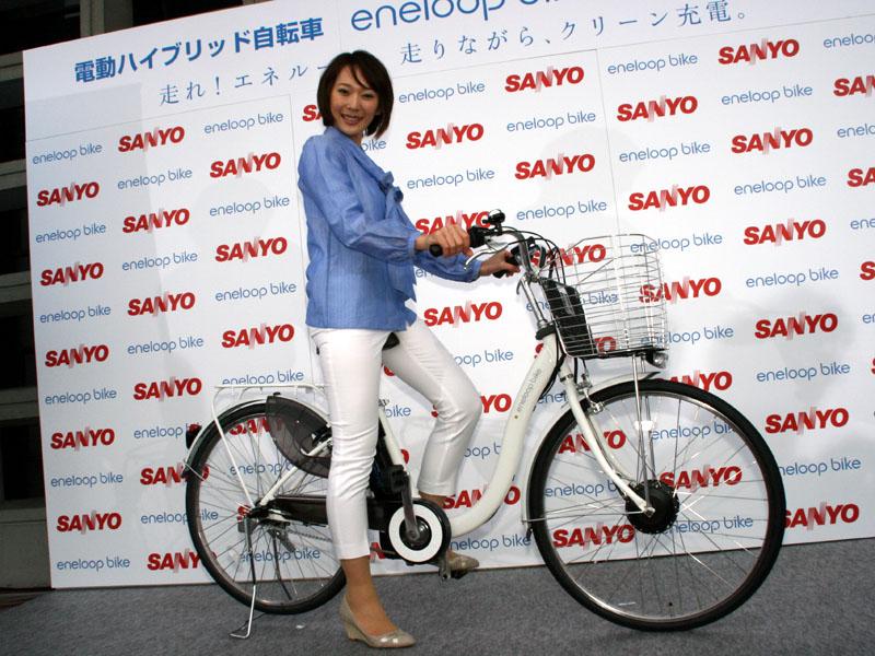電動ハイブリッド自転車 eneloop bike CY-SPL226