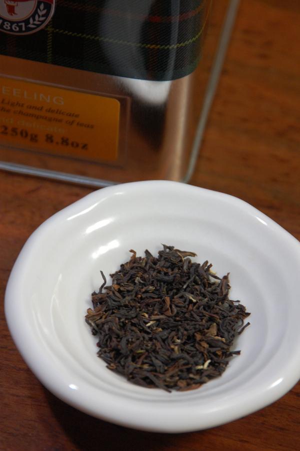 リーフ製法の茶葉を購入。茶葉は大きめなので、これなら大丈夫そうだ