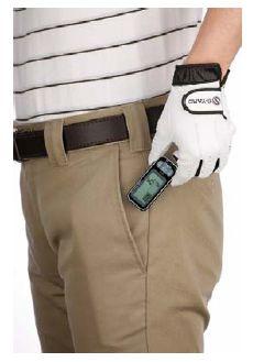 ポケットの中に入れた状態でも計測ができる3D加速度センサー搭載