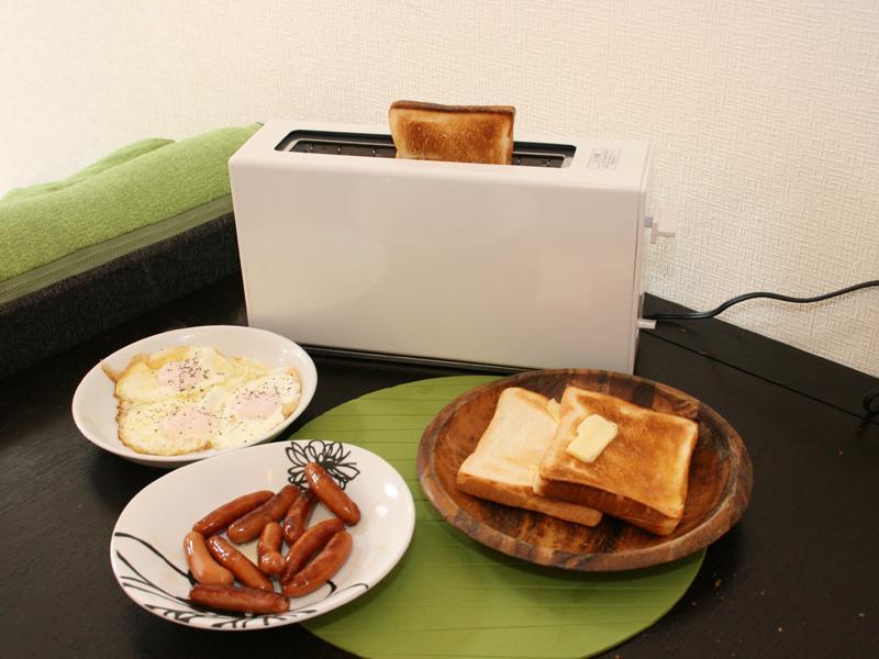 朝ご飯は必ずパンという人なら便利に使いこなせるだろう
